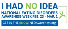 National Eating Disorders Awareness Week | Whole Health Dork