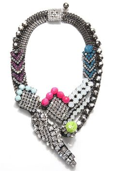 Pop Culture And Fashion Magic: Weekend cravings - Statement necklaces