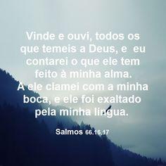 Salmos 66.16,17