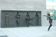 Freedom Sculpture in Philadelphia, Pennsylvania by Zenos Frudakis.