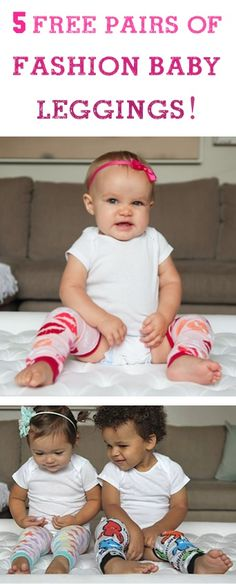 baby leggings - make some out of older sibling's leggings they've grown out of