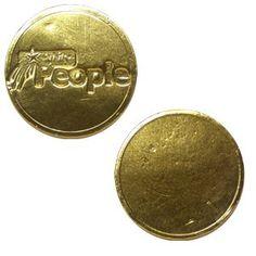Single Sided Custom Coin