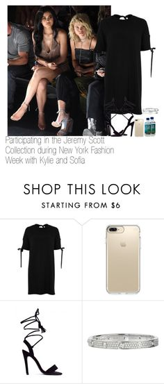 """""""Participating in the Jeremy Scott Collection during New York Fashion Week with Kylie and Sofia"""" by kylizie ❤ liked on Polyvore featuring River Island, Speck, Cartier, life, KylieJenner and SopiaRichie"""