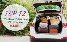12 Weekend Trips Under Rs.5000 from Delhi, Mussoorie, Neemrana, Kausani - Hello Travel Buzz