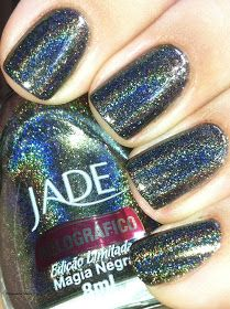Jade Holographic Nail Polish Vermelho Surreal   Jade Holos   Pinterest