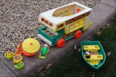 I just bid on one of these for the kiddo on eBay. Why don't they make toys that revolve around camping and outdoor family time anymore??!