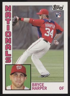 d6a9eb555 2012 Topps Archives  241 Bryce Harper RC Rookie SSP Baseball Card  Collectors