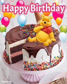 Happy Birthday Messages, Happy Birthday Images, Birthday Greetings, Birthday Cards, Birthday Emoticons, Beautiful Birthday Wishes, Share Pictures, Shoe Cakes, Winnie The Pooh Friends