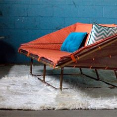 American designer Christopher Stuart of LUUR Studio has created the Hopeless Diamond Sofa. (via contemporist)