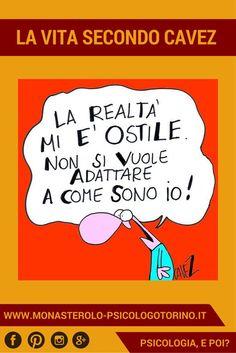 La vita secondo #Cavez: Accettare la realtà non è sempre facile. Betta, Snoopy, Calm, Funny, Life, Pulley, Sarcasm, Psicologia, Humor