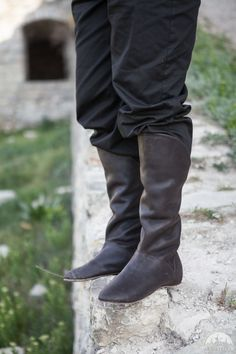 "Leather Boots ""King of the East"""