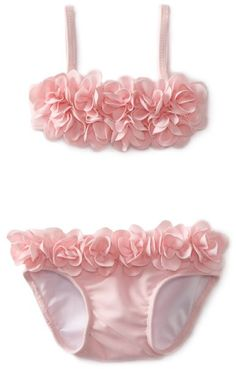 I will need this if the baby is a girl!: Kate Mack Baby-Girls Newborn Blooming Roses Swim Bikini: Clothing