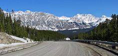 View of the Fisher Range from Smith-Dorrien Trail in Kananaskis Country, Alberta, Canada