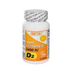 Deva Vegan Vitamin D 2400 IU (1x90 Tablets)