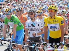 Unusual to see Wiggins in Green in the 2009 Tour de France