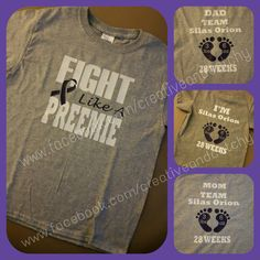 Fight Like a Preemie Shirt