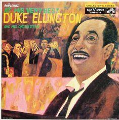 "Duke Ellington- At His Very Best   - RCA Victor LPM1715 [12"" LP] (1959)  Painting- Sidney Goodman"