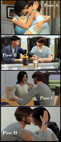 SIMS 4 POSES | New Beginnings Sims 4 Stories, I Am Game, New Beginnings, Photo Poses, Videos, Family Photos, Cowboy Hats, Studio, Couples