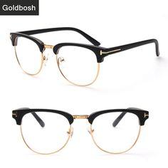 61371f5ef9 Online Shop brand new eyeglasses frame brand men women optical frames retro  semi rimless glasses frame Can be equipped with myopia lenses