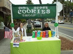 Show everyone your troop   s spirit and enthusiasm by participating in Girl Scouts of West Central Florida   s Cookie Booth Contest    To enter the co