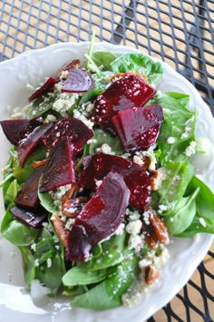 Posts about roasted written by annashortcakes Beet Recipes, Cooking Recipes, Roasted Beets Recipe, Goat Cheese, Cobb Salad, Side Dishes, Cabbage, Merry, Drink