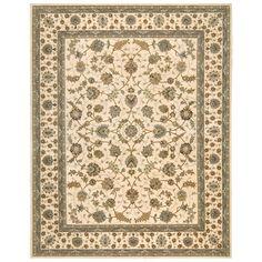 Have to have it. Nourison 2000 2023 Oriental Rug - Ivory - $169 @hayneedle.com
