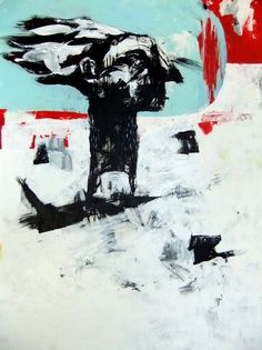 Title: Trusty Dog Medium: Acrylic on Canvas Size: 106cm x 152cm
