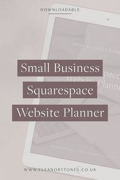 Start your Squarespace website today with this free downloadable planner. It will take you through all the essential  steps needed to set up your Squarespace website for your business quickly and easily. | Squarespace Design, Squarespace Tips, Website Design, Website Design Tips, Web Design Inspiration, Squarespace Portfolio, Squarespace for Beginners, Squarespace How To, Brine, Business Website, Squarespace Hacks, #squarespace #webdesign#squarespace #squarespacetutorial #squarespacetips