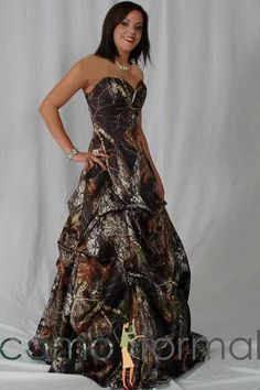 images of camoflage dresses | Camo wedding dress 2jpg.jpg