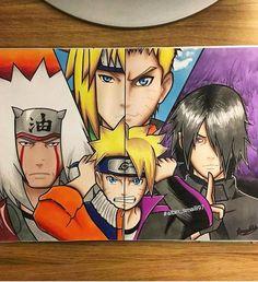 Ai que fanart linda Anime Naruto, Kakashi Sensei, Naruto Funny, Naruto Shippuden Anime, Naruto Art, Naruto And Sasuke, Manga Anime, Anime Boy Sketch, Naruto Sketch