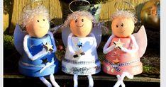 Basteln und Dekorieren - Engel aus Tontöpfen, nicht nur zu Weihnachten eine tolle Bastelidee. Rund um das Jahr eignen sich die kleinen Schutzengel als Geschenk für liebe Menschen.