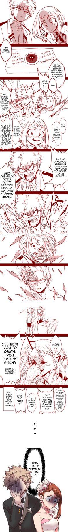 Boku no Hero Academia || Uraraka Ochako || Bakugou Katsuki