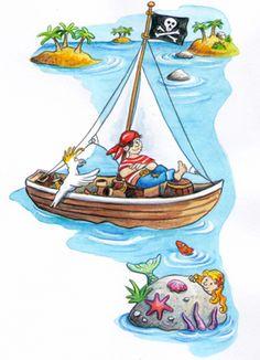 """Kleiner Pirat Unterrichtswerk """"Karibu"""" Westermann Verlag 2014"""