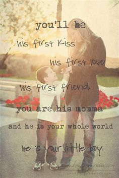 I don't have a little boy, just two girls but I had to pin this cause its adorable!