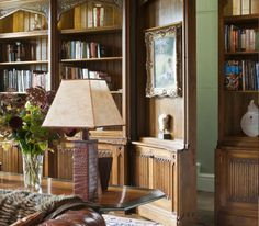 Home Library Design by Lady Henrietta Spencer-Churchill.