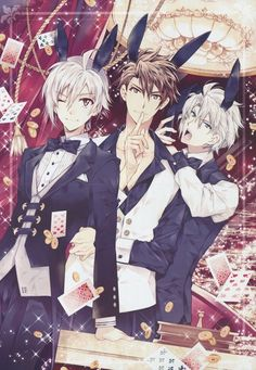Trigger in bunny hats and suits 🐰❤️ Anime Boys, Manga Anime, Hot Anime Boy, Manga Boy, I Love Anime, Anime Art, Anime Sexy, Anime Sensual, Anime Cosplay