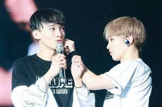Chen e Xiumin no EXO'rDIUM