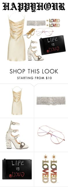 """Untitled #122"" by stavhalfon2013 ❤ liked on Polyvore featuring Yves Saint Laurent, ERTH and Gucci"