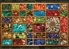 Bead Tray Jigsaw Puzzle | 1000 Piece Puzzle | Vermont Christmas Co. VT Holiday Gift Shop