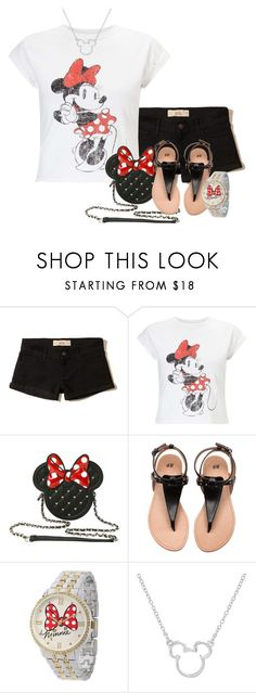 """""""Trip to Disney World"""" by tlb0318 ❤ liked on Polyvore featuring Hollister Co., Miss Selfridge and Disney"""