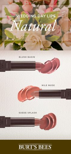 Calling all brides! For your wedding day, get the classic nude lip that perfectly compliments your smokey eye.