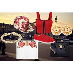 """""""Rose Garden"""" by reviewingmami on Polyvore"""