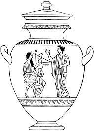 Ancient Greek Vase Template Anazhthsh Google Vasesdecorideas