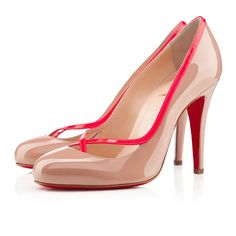 Christian Louboutin Cross ronda 100mm Patent leather Black