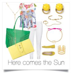 """""""Sunny"""" by paulinhag on Polyvore featuring Steilmann and Stella & Dot"""