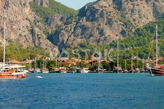 General information on Gocek Turkey, marinas, islands and beaches. Things to do in Gocek town. Stuff To Do, Things To Do, Marmaris, Attraction, Sunrise, Turkey, The Incredibles, Boat, In This Moment