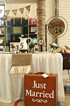 Darling booth and great ideas for wedding or parties by my friend @Lisa Pennington