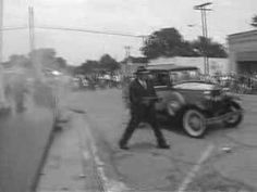 The Bonnie and Clyde festival in Gibsland, Louisiana feature re-enactments of their gun battles and culminates in the recreation of the ambush that killed Bonnie and Clyde