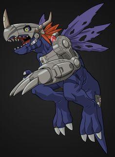 Virus MetalGreymon (Digimon Adventure 2) by chainspellXX7.deviantart.com on @deviantART
