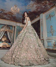 Un Beau Reve - Contemporary Couture - Bridal Couture Pakistani Engagement Dresses, Engagement Dress For Bride, Asian Wedding Dress, Pakistani Bridal Dresses, Pakistani Wedding Dresses, Indian Wedding Outfits, Perfect Wedding Dress, Bridal Outfits, Indian Weddings
